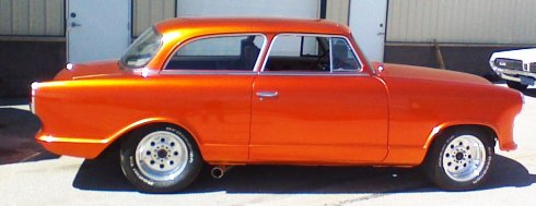 Orange car (2)