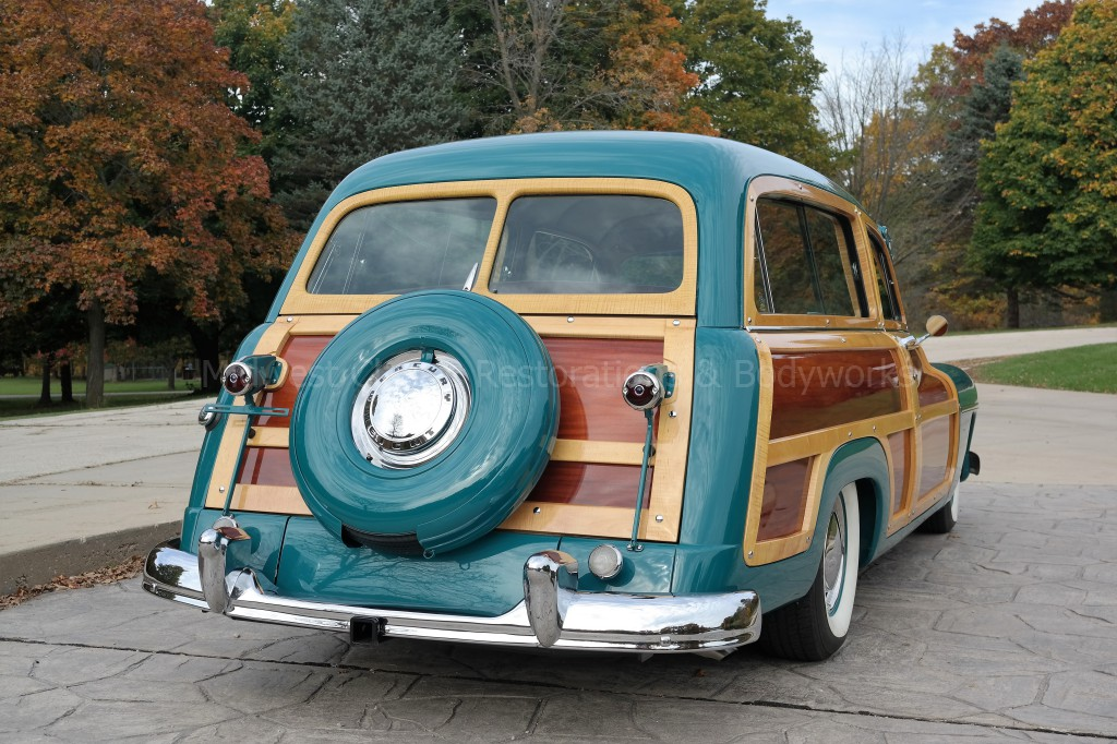 1949 Mercury Woody Wagon – Midwest Classic Restorations & Bodyworks